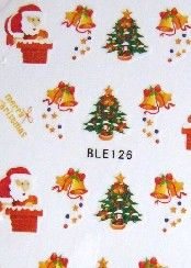 LOT 3 WATER DECAL NOEL