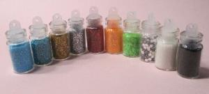 LOT 10 MINI PAILLETTES