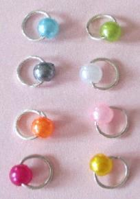 LOT 8 PIERCING D'ONGLE BOULE